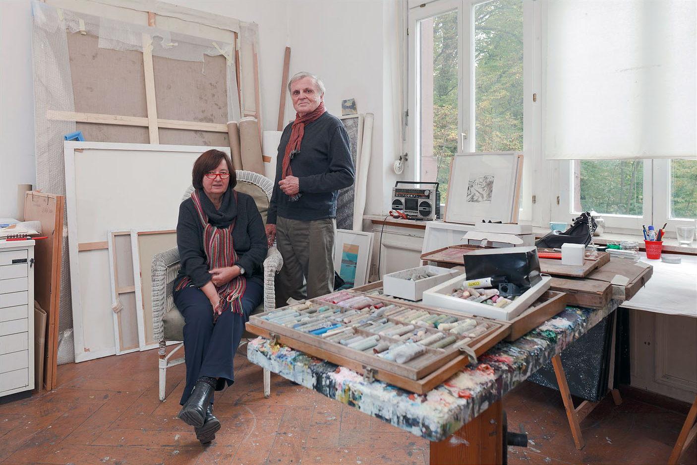 Maler In Reutlingen oda und roland bischoff malerei und grafik